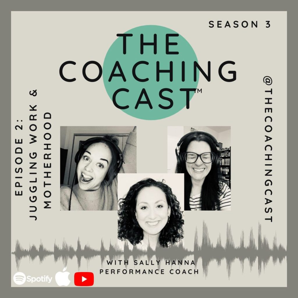 The Coaching Cast graphic